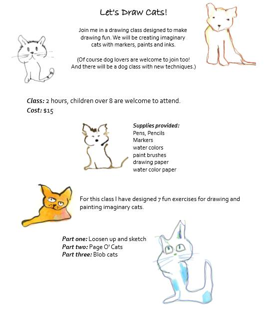 Let's Draw Cats